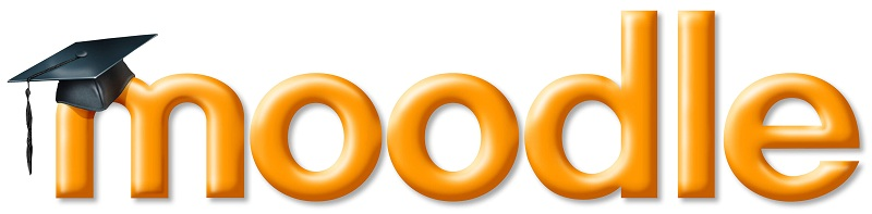 the logo of moodle, the biggest e-learning platform