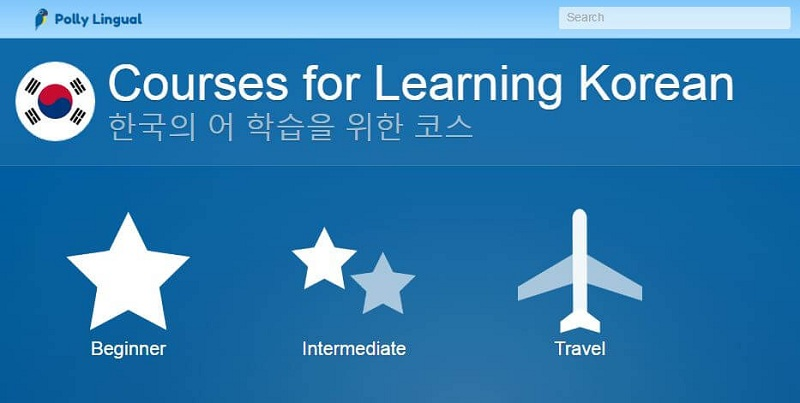 options for pollylingu.al's korean language learning