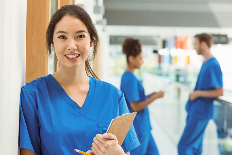young medical assistant