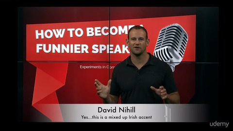 Become Better and Funnier at Public Speaking