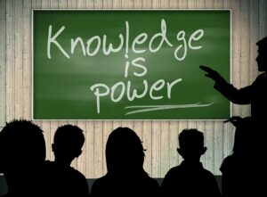 knowledge is power graphic