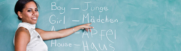 Learn German Online starting with the basics