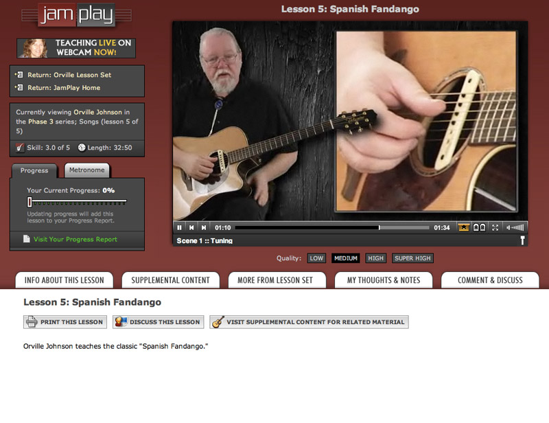 online guitar lessons jamplay