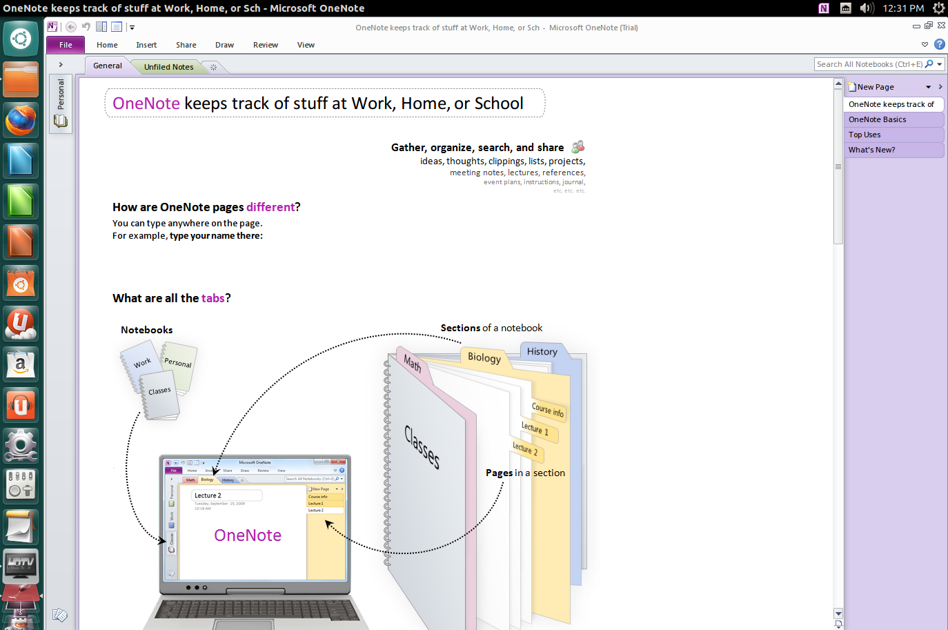 onenote tutorial mac