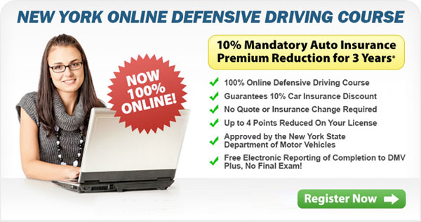 defensive driving course online NYC