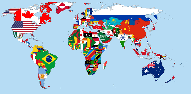 world flags easiest languages to learn