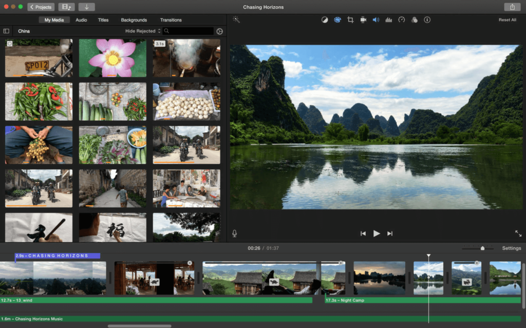 imovie editor explained in imovie tutorial