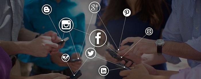 Marketers using social media