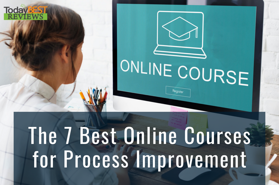 Process Improvement: Online Education Graduation Cap Graphics Concept