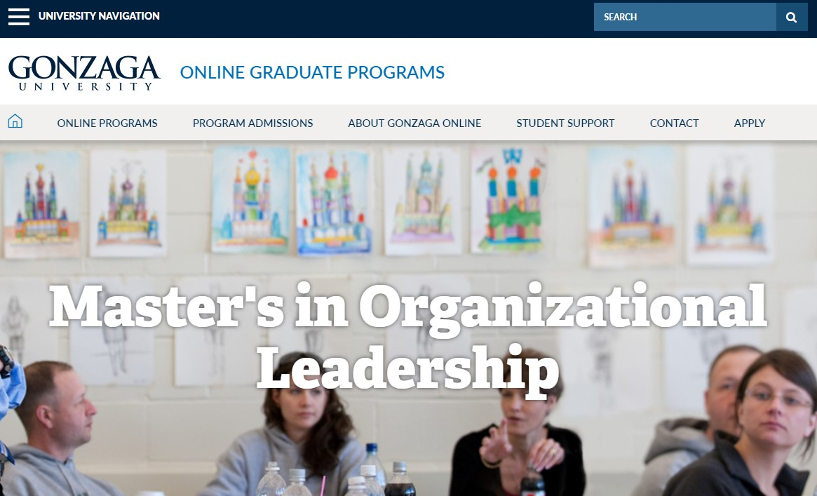 Gonzaga University Organizational Leadership