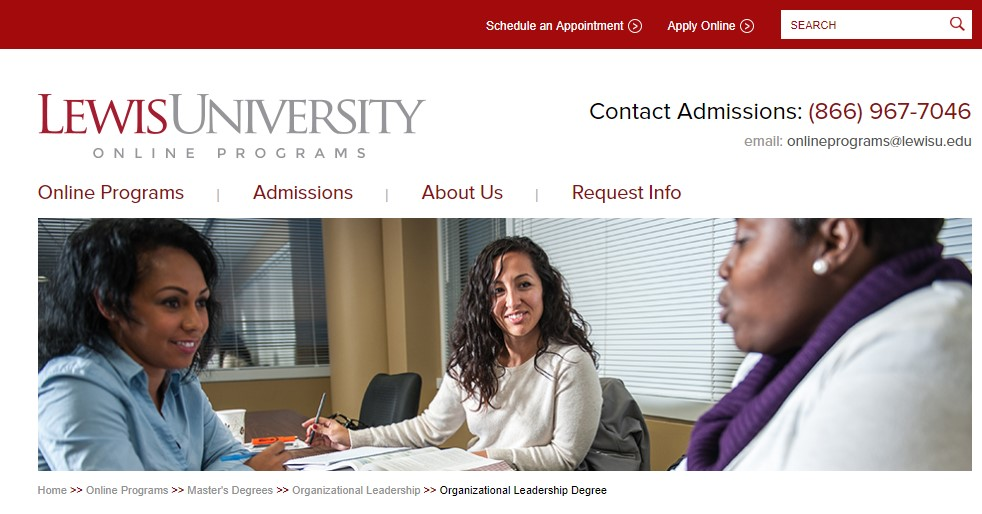 Lewis University Organizational Leadership