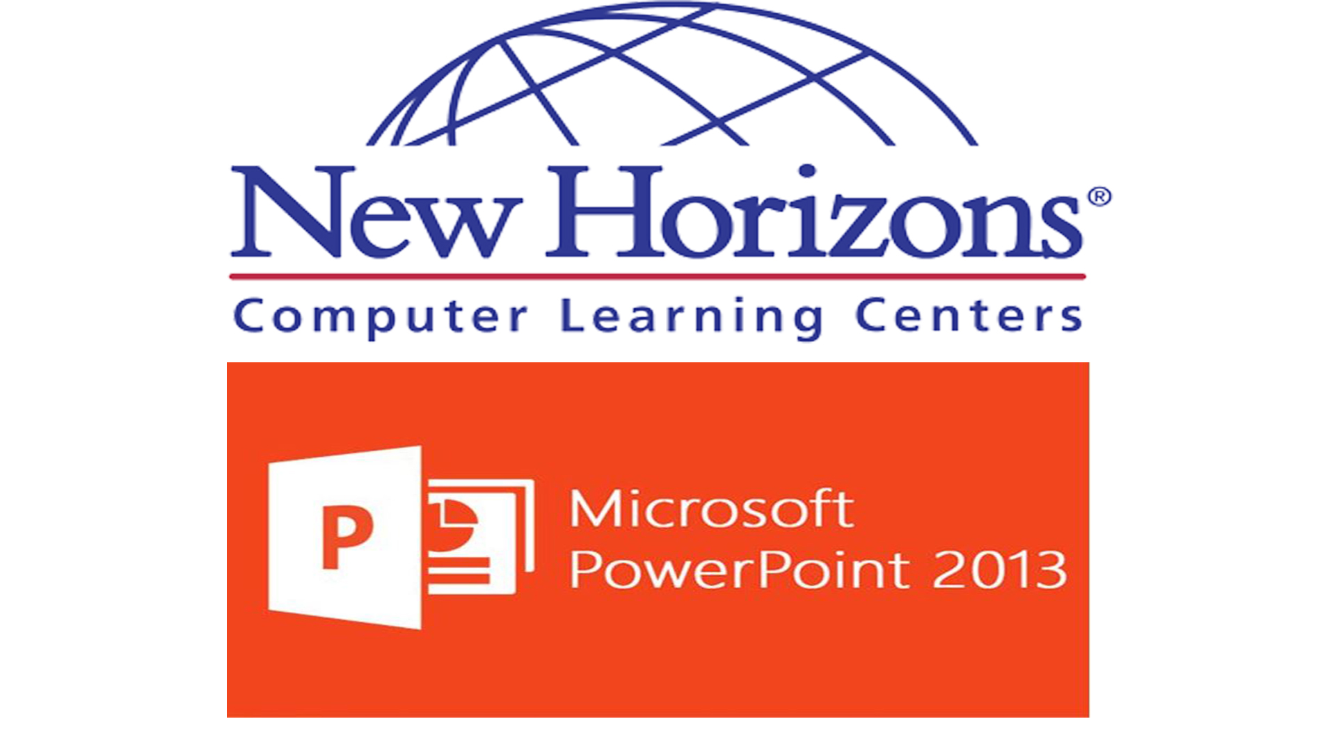 New Horizons PowerPoint Training